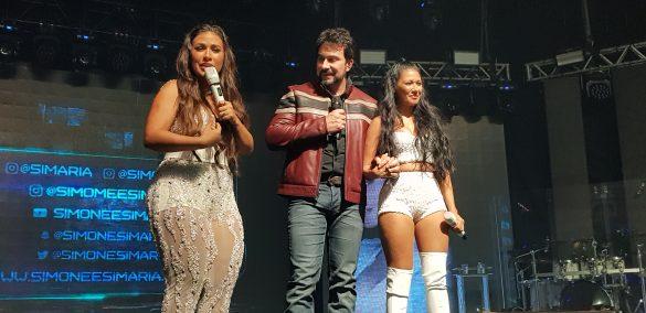 Simone e Simaria voltam aos palcos e gravam novo dvd no Espaço das Américas