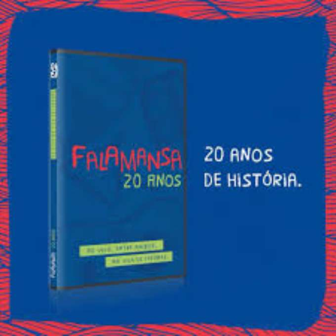 Falamansa faz show do DVD de 20 Anos de carreira em São Paulo