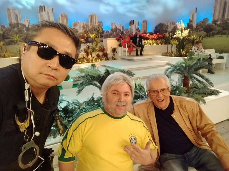 Ossamá Sato, Alexandre Porpetone e Carlos Alberto de Nóbrega