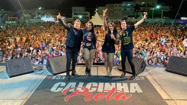 Calcinha Preta anuncia Gravação do 'DVD 25 Anos' em Aracaju-SE