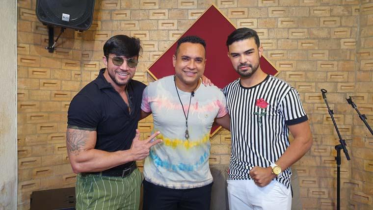 Reginaldo Sama e Sávio Rexdeixxon na TV Sergipe