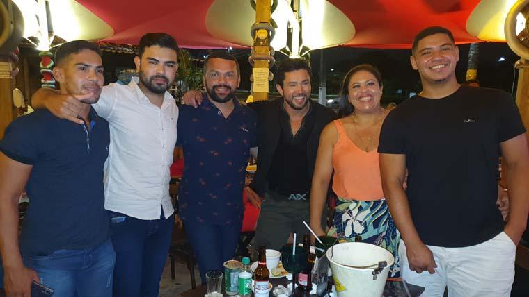 Show do Reginaldo Sama no Meio do Bar em Natal-RN