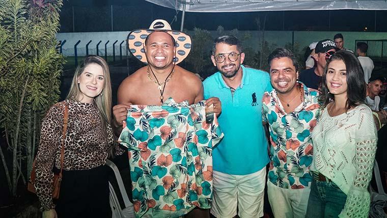 Aluizio Chulapa comemora 46 anos com Amigos