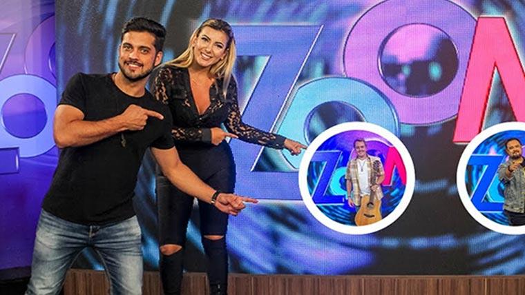 Jovens, versáteis e carismáticos, Gê Cotrim e Fábiola Fisher se destacam na TV8