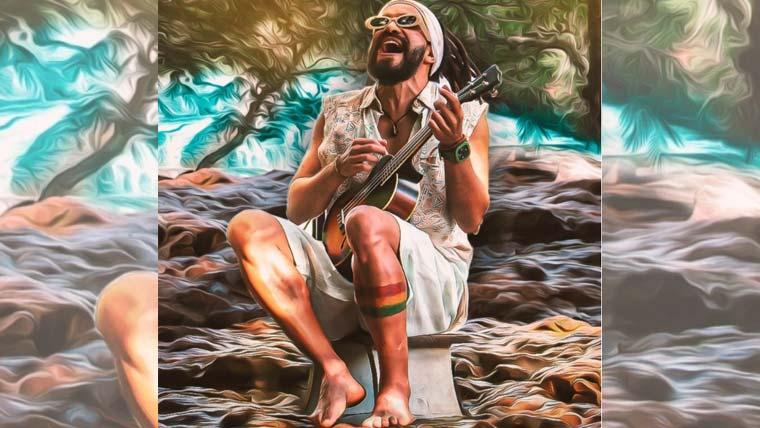 """""""Som de CaXu"""" o reggae de 'Arthur Xará' longe do mar e bem perto do mato"""