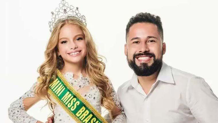 Paulo Filho assina preparação de Ana Carolina Leite, eleita Mini Miss Brasil