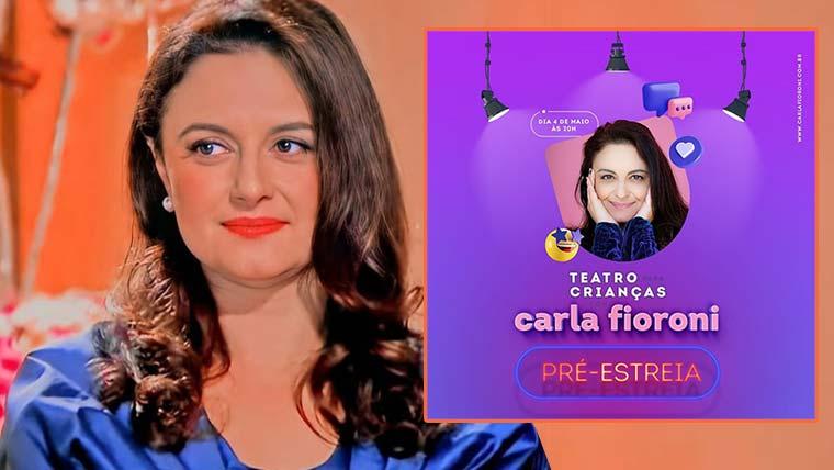 Carla Fioroni, faz um convite especial a todas as crianças