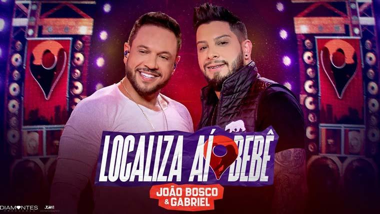 """João Bosco e Gabriel lançam """"Localiza Aí BB"""" primeira faixa do DVD gravado em Goiânia"""
