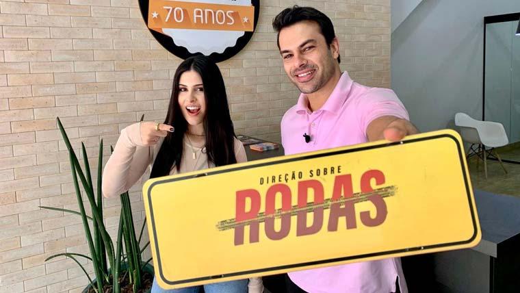 """Manu Cabanas tira primeira habilitação no """"Direção Sobre Rodas"""" da RedeTV!"""
