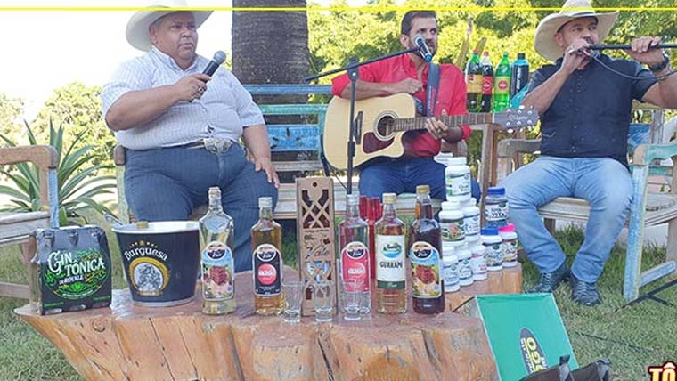 Gravação do Programa Alegria do Gordo com Wilson Carlos na Chácara Santo Antônio