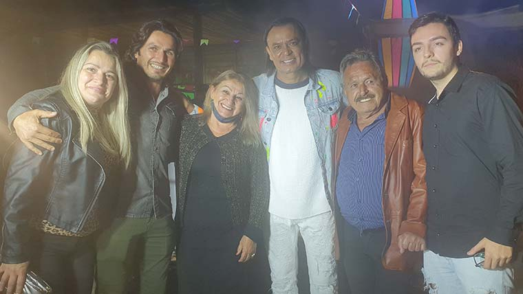 Live de São João de Frank Aguiar no Go Organic Club