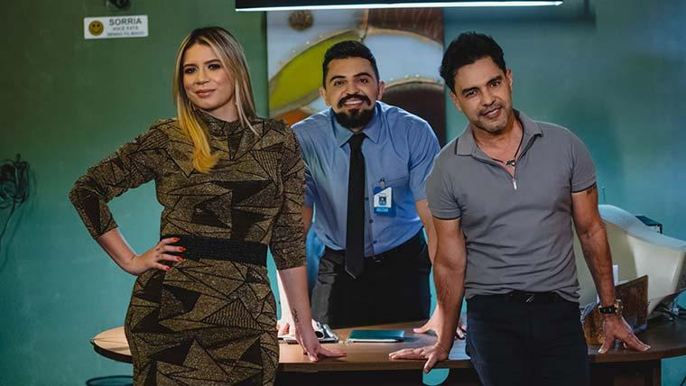 Marília Mendonça e ZezeDiCamargo participam de clipe de Henrique Castro_ToNaMidia