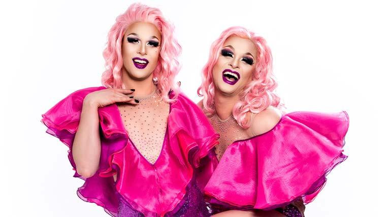 Dragqueens cantoras, Sara e Nina, lançam single 'Céu de Framboesa'