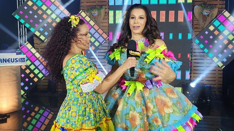 Live Escândalo da cantora Simara Pires
